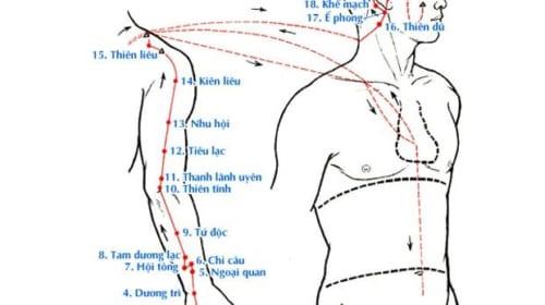 Vị trí và tác dụng của 128 huyệt thường dùng
