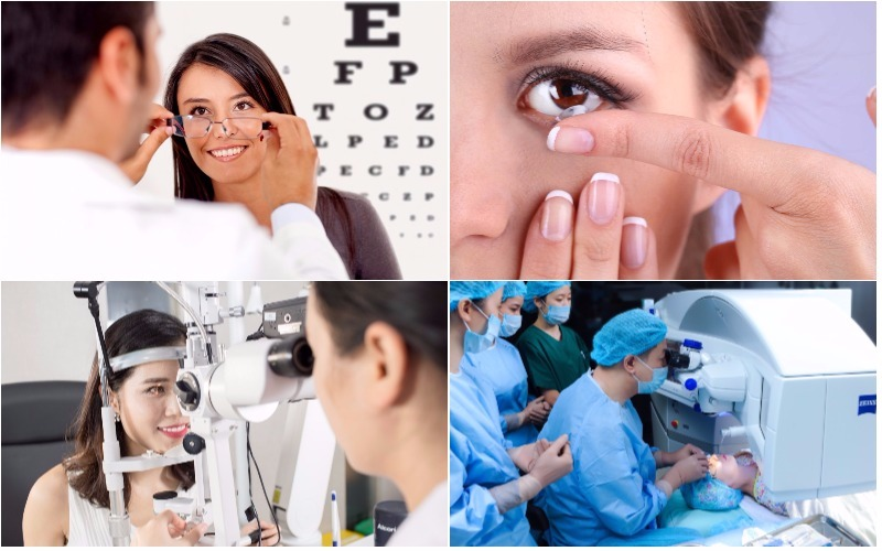 Điều trị cận thị