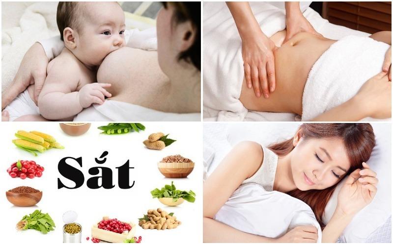 Chế độ dinh dưỡng và nghỉ ngơi cho bà mẹ sau sinh