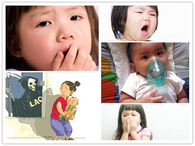 Nguyên nhân mắc bệnh ho ở trẻ em