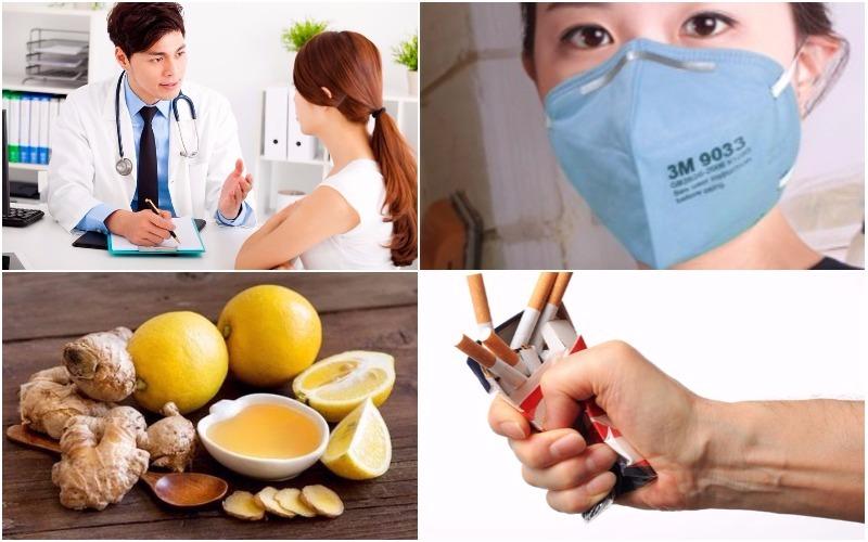Cách phòng bệnh viêm thanh quản
