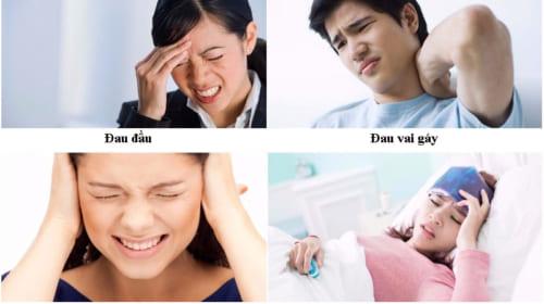Triệu chứng của viêm xoang