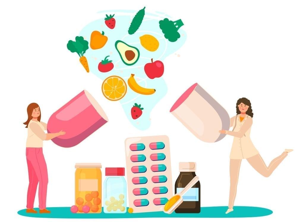 bo sung vitamin khoang chat 1 1 1 - Hệ miễn dịch là gì? Hệ miễn dịch quan trọng đối với cơ thể như thế nào?